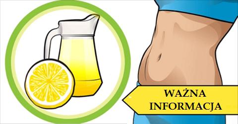Pij codziennie wodę z cytryną – WAŻNE WSKAZÓWKI
