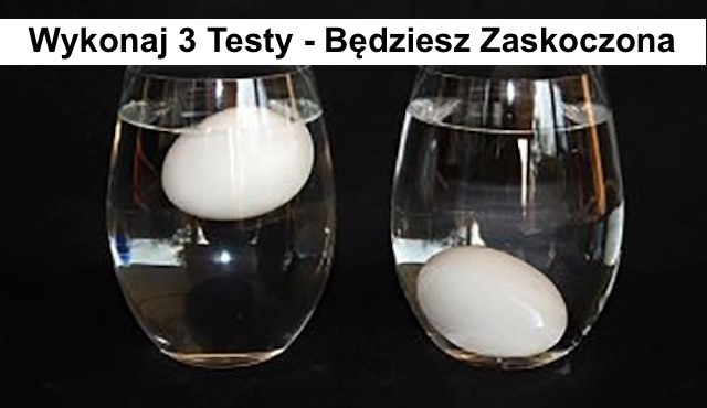 Jak sprawdzić świeżość jaj –  Zaskakujące 3 proste TESTY