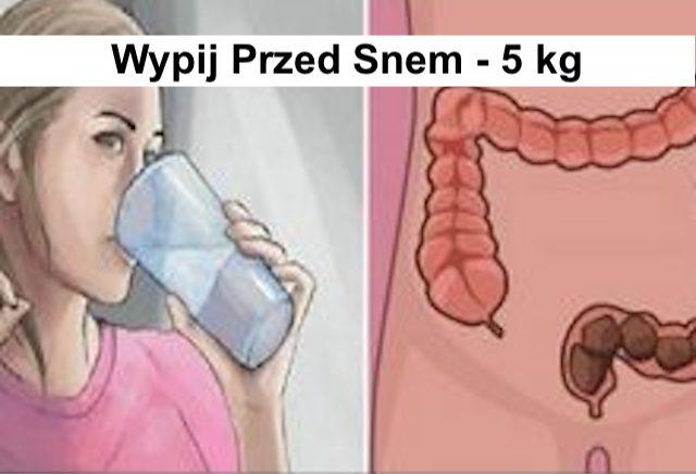 Wypij przed Snem – Usuń Tłuszcz z Jelit  – 5 kg