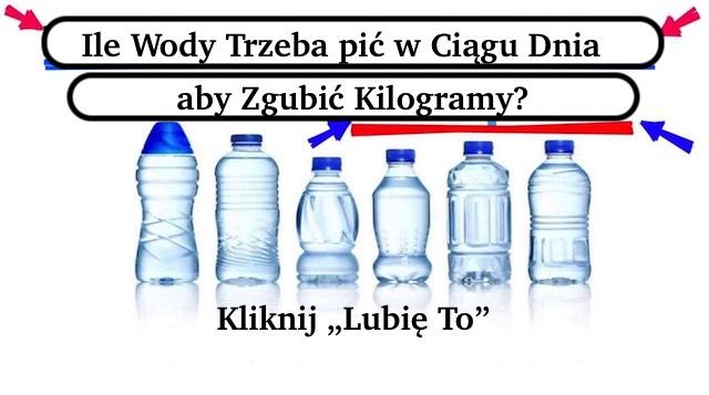 Jak pić dużo wody dziennie, aby szybko schudnąć?