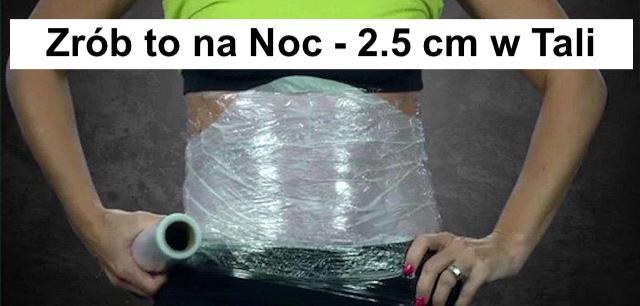 Spalający tłuszcz kompres imbirowy – Zmniejsz rozmiar Talii do 2,5 cm