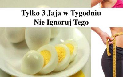 Tylko 3 jajka w Tygodniu – Badanie z Harvadru